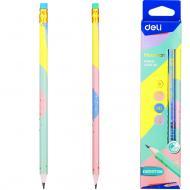 Олівець чорнографітний Macaron EU54800 колір в асортименті Deli