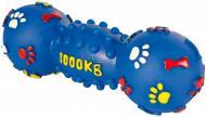 Іграшка для собак Trixie Гантель із лапками вініл зі звуком 15 см 3361