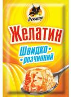 Желатин харчовий швидкорозчинний 15 г Нектар (297)