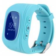 Детские умные смарт-часы с GPS Smart Watch UWatch Q50/G36 Light Blue (005430)