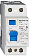 Устройство защитного отключения Schrack 10кА/30мА 2P 63А AC AR006203--