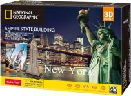 3D-пазл CubicFun National Geographic Емпайр Стейт Білдінг DS0977h