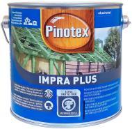 Грунт для дерева Pinotex Impra Plus зеленый 2,5 л