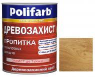 Деревозащитное средство Polifarb Деревозащита дуб мат 0,7 кг