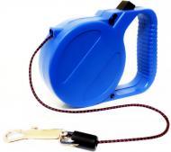 Повідець-рулетка Lilli Pet Htech basis 3 м для 7 кг синій