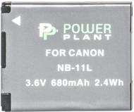 Акумулятор PowerPlant Canon NB-11L 680мА*ч (DV00DV1303)