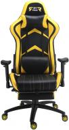 Кресло GT Racer X-2534-F черно-желтый