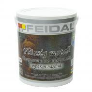 Декоративне покриття Feidal Flussig metall залізо 2кг