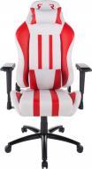 Крісло GT Racer X-2608 біло-червоний