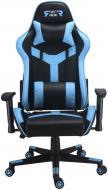 Кресло GT Racer X-2527 черно-синий