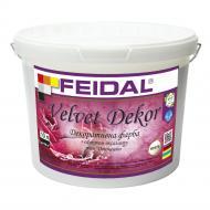 Декоративна фарба Feidal Velvet Dekor перламутровий 10 л