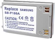 Акумулятор PowerPlant Samsung SB-P180A 1900мА*ч (DV00DV1237)
