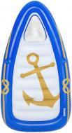 Матрас надувной Bestway Морской рай 190хбелый/синий