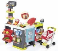 Інтерактивний ігровий набір Smoby Maxi Market зі звуковими ефектами, візком і аксесуарами 350215
