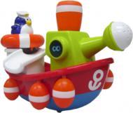 Іграшка для ванної Water Fun Пінгвінчик-моряк на кораблі 23204