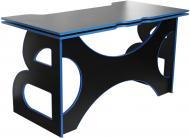 Стіл комп'ютерний Barsky Homework Game HG-04 чорний/синій