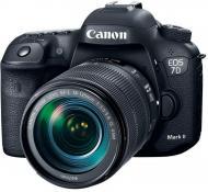 Фотоапарат Canon EOS 7D Mark II 18-135 IS USM + WiFi-адаптер W-E1 black
