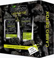 Bielenda CARBO DETOX (50 мл крему для обличчя + 150 г очищаюча паста для обличчя)