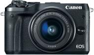 Фотоапарат Canon EOS M6 Kit 15-45 IS STM black