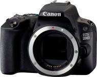 Фотоапарат Canon EOS 200D Body black