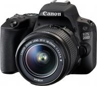 Фотокамера Canon Canon EOS 200D kit 18-55 DC III black