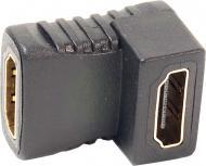 Перехідник PowerPlant HDMI чорний (KD00AS1305) кутовий