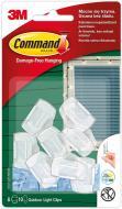 Кліпси для проводів Command вуличні прозорі 8 шт. 17017CLR-AW