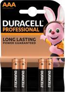 Батарейки Duracell Professional AAA (LR03, 286) 4 шт. (81578681)