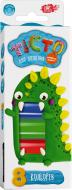 Тесто для лепки Nota Bene ART 8 цветов Динозавр
