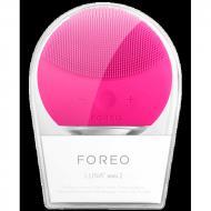 Настраиваемая щетка для чистки и spa-массажа лица Luna Mini 2 Foreo Fuchsia Розовый (258594)