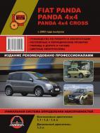 Книга «Руководство по ремонту и эксплуатации Fiat Panda / Panda 4х4. Модели с 2