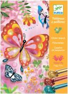 Набір для малювання Djeco блискітками Блискучі метелики DJ09503