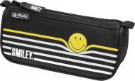 Пенал Sport Smileyworld Stripes 50015351 Herlitz чорний