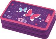 Пенал 23 предм Double Butterfly Purple Метелики 50014231 Herlitz фіолетовий