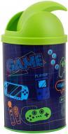 Контейнер для мусора YES металлический Game 707064 разноцветный