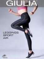 Лосины Giulia LEGGINGS SPORT AIR LEGGINGS SPORT AIR-nero/pink S/M черный