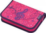 Пенал 31 предметів Melody Clef 50014323 Herlitz рожевий