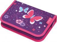 Пенал 31 предм Butterfly Purple Метелики фіолетовий 50014293 Herlitz фіолетовий