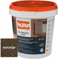 Лазурь Aura® ColorWood Aqua полисандр полумат 0,75 л