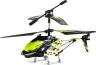 Гелікоптер на ІЧ-керуванні WL Toys 3-к мікро з автопілотом зелений WL-S929g