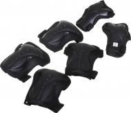 Комплект захисту MaxxPro для роликових ковзанів PR-5-BK р. M чорний