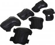 Комплект захисту MaxxPro для роликових ковзанів PR-5-BK р. L чорний