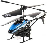 Вертолет на ИК-управлении WL Toys Bubble мыльные пузыри 3-к микро синий WL-V757b