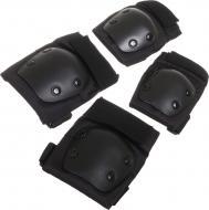 Комплект захисту MaxxPro для роликових ковзанів PR-6-BK р. L чорний