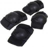 Комплект захисту UP! (Underprice) для роликових ковзанів PR-7-BK р. S чорний