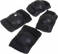 Комплект захисту UP! (Underprice) для роликових ковзанів PR-7-BK р. M чорний