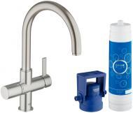 Змішувач для кухні Grohe Blue Pure з функцією очищення водопровідної води (33249001)