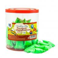 Пластилін легкий стрибаючий 6 г, зелений Nota Bene