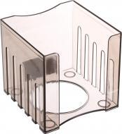 Лоток для паперів ПС 8.5х8.5х8 см димчатий