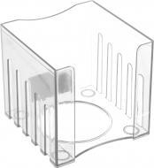 Лоток для паперів ПС 8.5х8.5х8 см прозорий